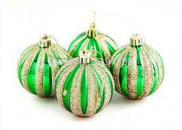 green ornaments balls happy holidays