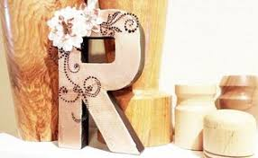 Letters For Home Decor Paper Quilled Monogram Inexpensive Home Decor Hometalk