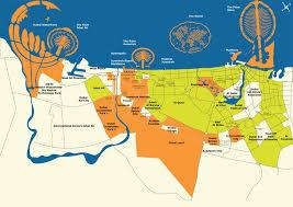map of the uae dubai map uae major tourist attractions maps