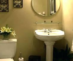 bathroom pedestal sinks ideas small pedestal sink moutard co