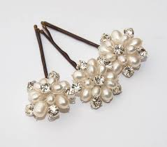 pearl hair pins emily ivory pearl and hair pins set of three ivory pearl