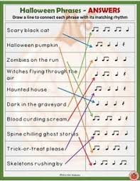 halloween music theory worksheets all free and super fun more