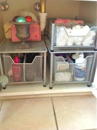 Sink Storage Bathroom Kitchen Sink Organizer And Ways To Organize The