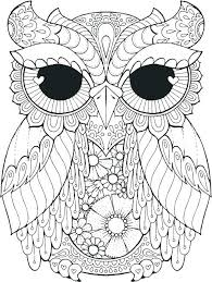 desert owl coloring page freebie owl coloring page adult and books with regard to pages for