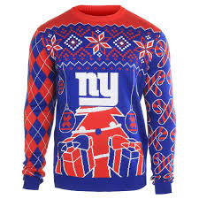 new york giants sweater christmas ornaments ugly sweater