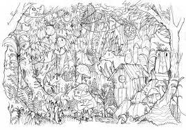 animaux sauvages de la jungle 115 animaux u2013 coloriages à imprimer