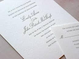 post wedding reception wording exles emily post wedding invitation wording vertabox