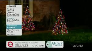 pre lit 5 u0027 fold flat outdoor christmas tree by lori greiner page
