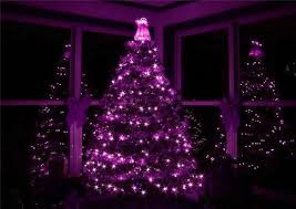 Pink Purple Blue Christmas Decorations by 17 Purple Christmas Trees Decorating Ideas Christmas Celebrations