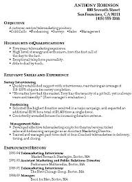Objective Resume For Customer Service Sample Resume For Customer Service Resume Template And