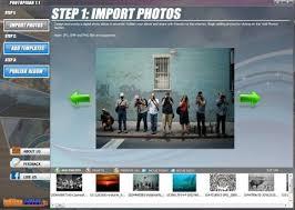 membuat video aplikasi membuat video slideshow dari foto photopixar kaskot tips trik