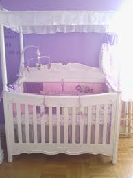 Crib Net Canopy by My Babys Princess White Canopy Convertible Crib Babybump Alt12