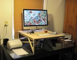 diy standing desk converter calorielab 10 standing desks to help you kick your chair habit