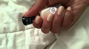 sally hansen 130 bare dare miracle gel nail polish youtube