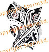 41 best mixed tribal tattoo flash designs by storm3d images on