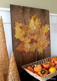 Decorating With Fall Leaves - best 25 cheap fall decorations ideas on pinterest cheap
