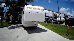 Ppl Rv Awnings 28 U0027 2003 Hitchhiker Ii By Nuwa 26 5rl Ppl F735 Youtube