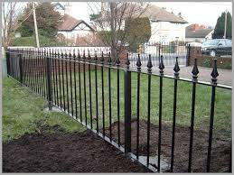 introducing cost of wrought iron fence terrific decoration 543631