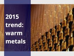 home decor trends 2015 colors metals wallpapers tubs