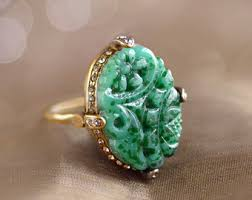 jade ring necklace images Jewelry shopping guide etsy jpg