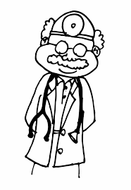 doctor coloring free printable kids coloring pages clipart