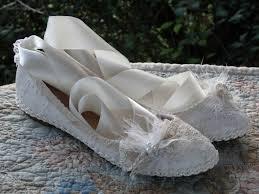 ballerine mariage une toute nouvelle paire de chaussure pour une future mariée de