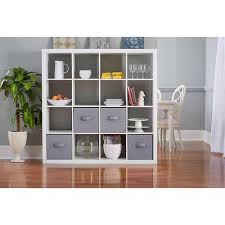 better homes and gardens 16 cube organizer multiple colors