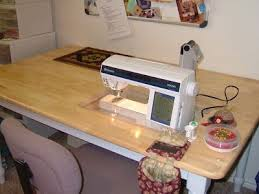 cheap sewing machine cabinets drop in sewing machine table made from a cheap dining room table