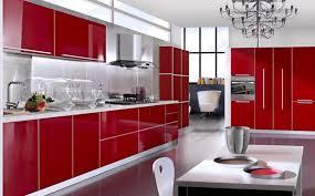 kitchen red red kitchen cabinets kitchentoday