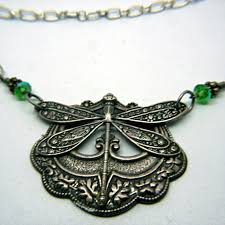 choker collar necklace vintage images Dragonfly ancient renaissance choker collar style necklace in jpg