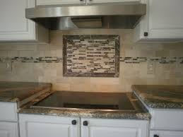 kitchen backsplash ideas with white cabinets red oak laminate