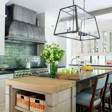 zinc barrel kitchen hood design ideas