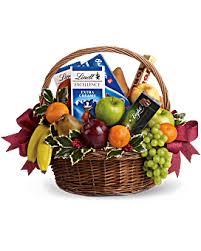 food gift basket gift baskets gourmet food and flower baskets teleflora