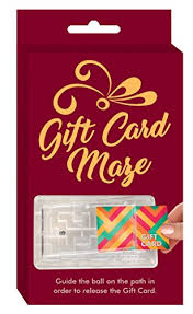 gift card maze money puzzle gift card maze by techtools brain teasing puzzle for