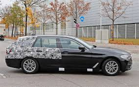2018 bmw 5 series touring getting closer to official reveal