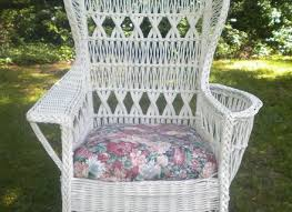 Wingback Wicker Chair Sonoma Goods For Life Presidio Patio Wing Back Wicker Chair On