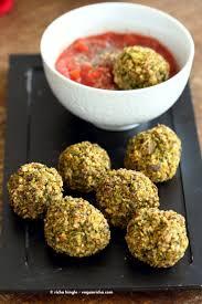 vegan broccoli balls vegan richa