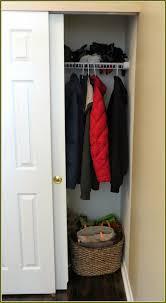 small coat closet organization home design ideas