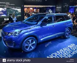 peugeot suv 2016 paris france 29th september 2016 world premier of peugeot 5008