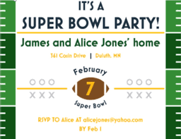 party invitation bowl party invitations 2018 football