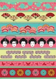 image 4243587 set of japan ornaments from crestock stock photos