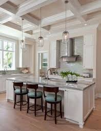 Lantern Kitchen Lighting by Kitchen With Dark Cabinetry And Large Contrasting Island Love The