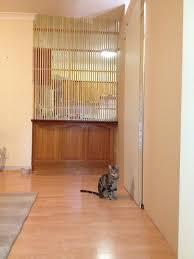 Interior Pet Door For Cats Indoor Pet Barrier Make It Yourself