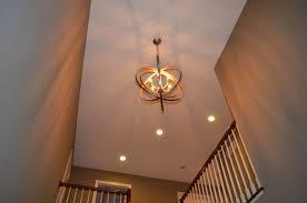 image of 2 story foyer chandelier modern ideas
