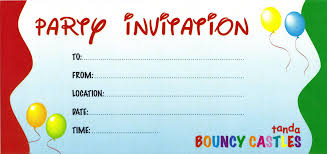 Cool Invitation Cards 5 Creative Invitation Card For Birthday Party Template Neabux Com