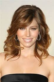 pictures of hairstyles for oblong face shapes oval face best jessica biel best and worst medium length cuts