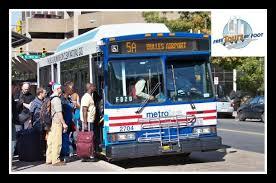 washington dc metrobus map transportation between washington d c and dulles airport free