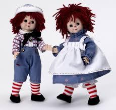 alexander raggedy ann u0026 andy doll classic edition set 47745