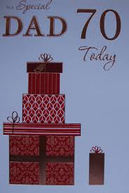 dad 70th birthday birthday card ebay
