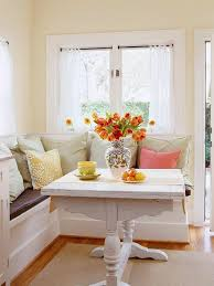kitchen nook table ideas interior design cool breakfast nook designs with colorful pillows